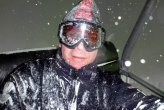 Tufft att vara skidåkare