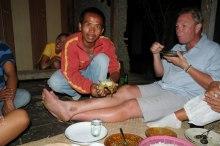 Middag hos våra vänner i djungeln