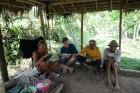 Lunch vid risfältet