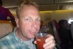En sista Bloody Mary innan vi landar