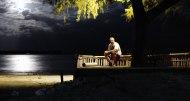 En stilla stund i månskenet