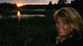 Solnedgång i Gunnarsvik