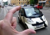 En liten bil