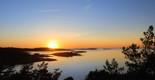 Solnedgång över Särö Västerskog