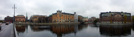 Vasabron mot Helgeandsholmen