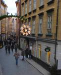Julstjärna i Gamla stan