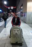 Jag kan rida på ett lejon