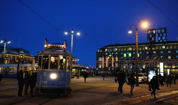 Julvagnen till Liseberg
