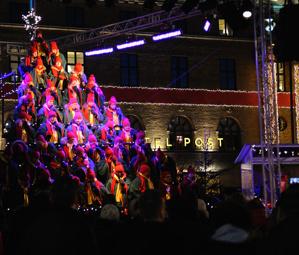 mer sjungande julgran