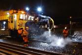 Rail-Vac sanerar vägsalt i spåret