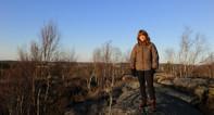 Ingen snö på Lilla Getryggen jan 2014