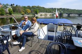 en liten tur med båten