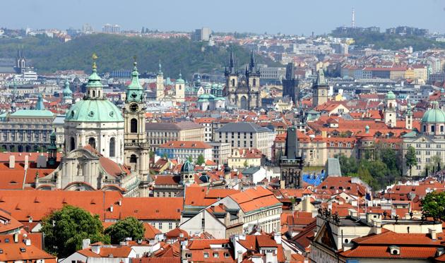 hustak i Prag