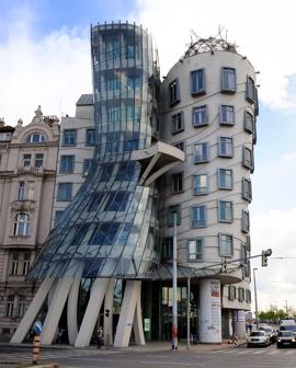 ett konstigt hus...