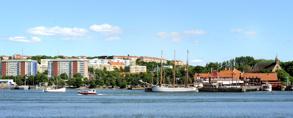 Gråberget Majorna där bodde jag på Seglargatan på 80-talet till höger Sjömagasinet
