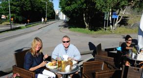 hamburgare och öl på Port Arthur, välförtjänt...