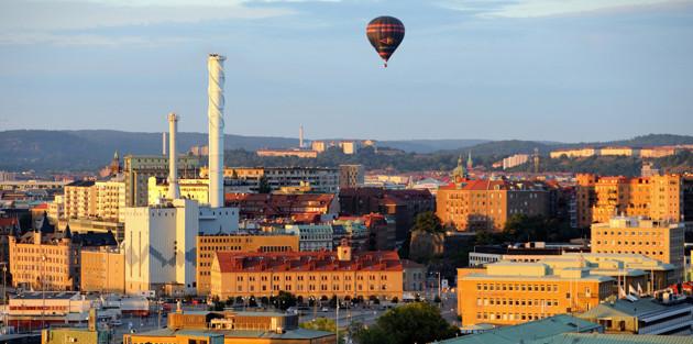 Ballong över Göteborg