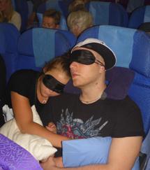 ungdomarna sover...