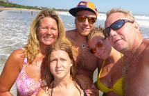 selfie på stranden...