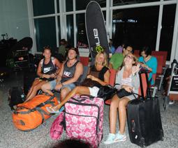 väntar på incheckning Bali...