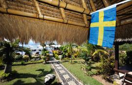 hejja Sverige friskt humör, det är det som susen gör... Sverige Sverige Sverige !!!