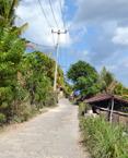 typisk gata på Lembongan...