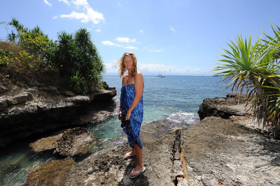 Smultron-nosen på Nusa Lembongan 2014