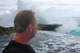 fjösiga vågor...