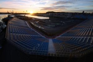 City Arena på Bananpiren, snart ett minne blott...