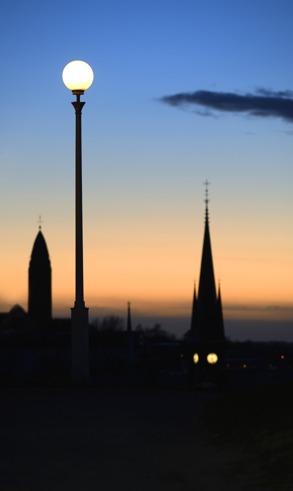 Masthuggskyrkan,Stolpe,Oscar Fredriks kyrka...