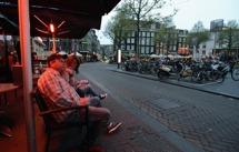 järnkoll på läget över Rembrandtplatz...