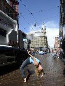 i Amsterdam får man se allt...