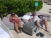 gratis groggar avnjutes bäst i strandpuffar...