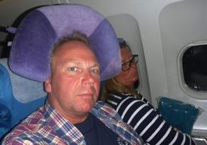 jag är klar för tolv timmar med Air Mauritius...