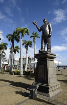 grundaren av dagens Mauritius , tror jag...