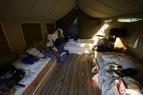 morgonstökigt i tältet...