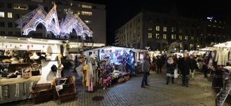 julmarknad i Malmö...