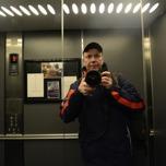 selfie i hissen...