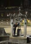 klassisk staty på Stora Torget...