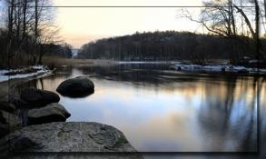 """""""stål-loppet"""" mellan Stensjön och Rådasjön..."""