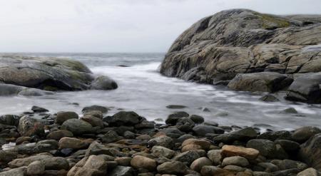 hav möter klippor och stenar...