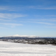 utsikt över Jämtland...