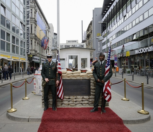 Checkpoint Charlie...