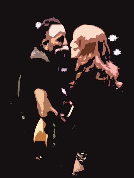 Bruce och Patti Scialfa...