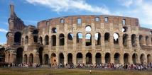 Colosseum ligger granne med Circo Massimo...