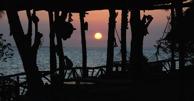 solnedgång över Promised Land...