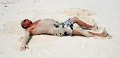 solskydds faktor på Zanzibar...