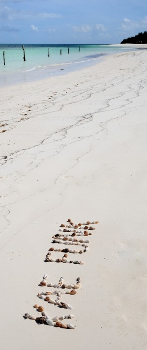 art in sand...