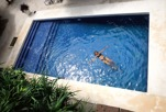 nosen i poolen...