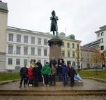 Samling vid Jonas Ahlströmer...
